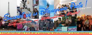 Felicitare cu Disneyland Paris